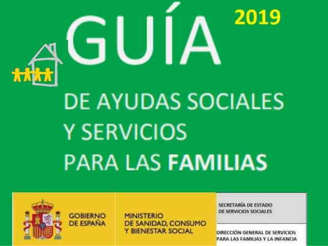 Disponible para descargar la Guía de Ayudas Sociales y Servicios para las Familias 2019