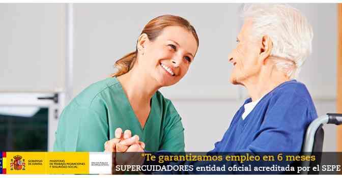 Obtener la acreditación para trabajar con personas dependientes es muy fácil con los cursos online de Supercuidadores.