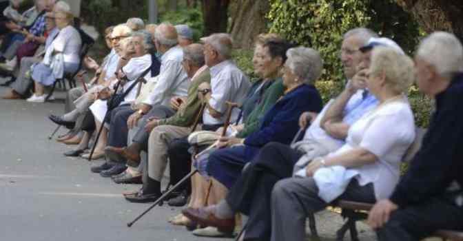 Así es la distribución de personas mayores de 65 años en España.