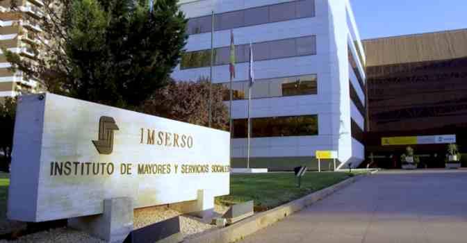 Sede del Imserso en Madrid. Se investiga una presunta trama de contratación irregular de servicios informáticos.