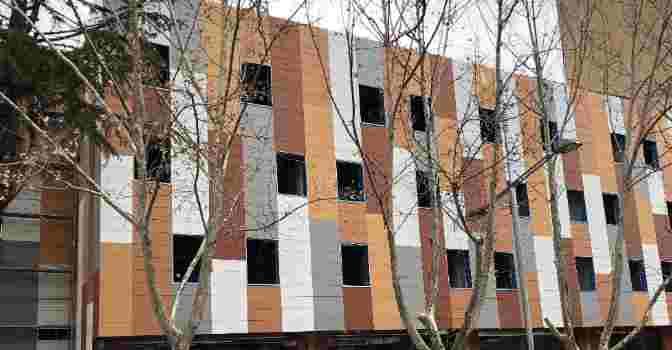 La Residencia Rey Ardid Ibercaja Teruel se ubica en un moderno edificio de la localidad aragonesa.