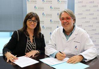 Sodexo e Institut Guttmann acuerdan estudiar nutrición y enfermedades neurológicas a través de la firma de un convenio