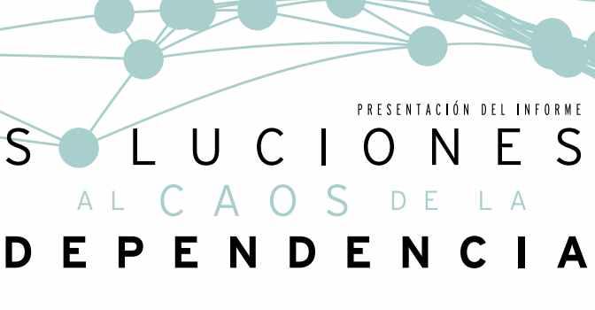 El informe 'Soluciones al caos de la dependencia', de CEAPs, se presenta el próximo 21 de marzo en Madrid.