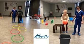 """Albertia Las Vegas pionera en """"Programa de Prevención de Caídas"""""""